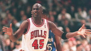 Thumbnail for A Game-Worn Michael Jordan Jersey Just Sold For A Ridiculous Amount Of Money!