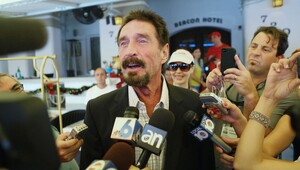 Thumbnail for Eccentric Millionaire John McAfee is Making a Comeback