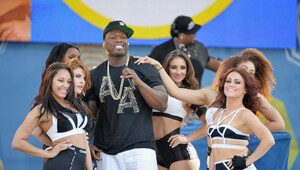 "Thumbnail for ""Bankrupt"" 50 Cent Angers Creditors By Flaunting Cash On Social Media"