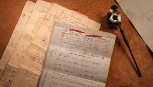 "Thumbnail for Original Handwritten ""Laws of Base Ball"" Sold For $3.26 Million At Auction"