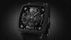 "Thumbnail for The S-110 Evo Venta Black Is The ""World's Blackest Watch,"" And It Costs $95,000"