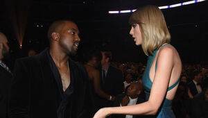 Thumbnail for Taylor Swift May Sue Kanye West And Kim Kardashian For Recording Their Phone Call