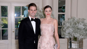 Thumbnail for Evan Spiegel And Miranda Kerr Are Engaged!