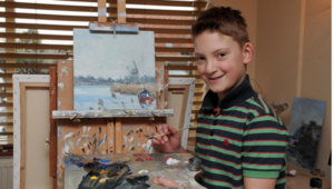 Thumbnail for This 13-Year-Old Artist Has Sold $3.2 Million Worth Of Paintings