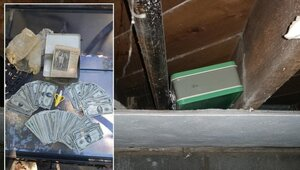 Thumbnail for Ohio Couple Finds Incredible Hidden Trea$ure While Renovating Their Basement
