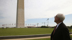 Thumbnail for Billionaire David Rubenstein Pledges To Fund Washington Monument Repairs