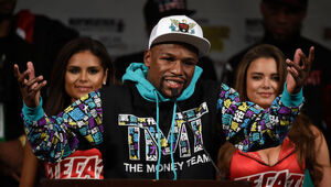 Thumbnail for Floyd Mayweather Dispels Rumors Of A Fight Agreement With Conor McGregor