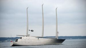 Thumbnail for Andrey Melnichenko's Giant $400M Yacht Impounded By Gibraltar Port Authority