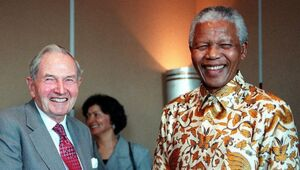 Thumbnail for Billionaire Philanthropist David Rockefeller (John D. Rockefeller's Grandson) Just Died At The Age Of 101