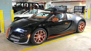 Thumbnail for Floyd Mayweather's Old 2015 Bugatti Grand Sport Vitesse Is Now For Sale On eBay