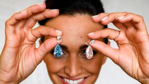 Thumbnail for Diamond Earrings Sell For More Than $50M, Become Most Expensive Ever Sold At Auction