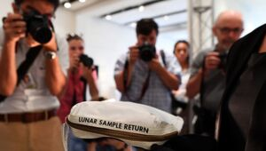 Thumbnail for Neil Armstrong's Moon Bag Expected To Get $4 Million At Auction