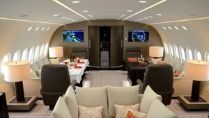 Thumbnail for The Dream Jet, A Luxury Apartment Inside An Airplane, Costs $74,000 An Hour