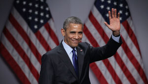 Thumbnail for Obama To Make $1.2 Million Giving Speeches To Wall Street Firms