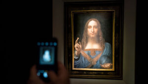 Thumbnail for Leonardo da Vinci's 'Salvador Mundi' Sells For Record $450 Million In Auction