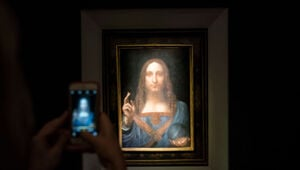 "Thumbnail for Revealed: Identity Of The ""Secret Buyer"" Who Paid $450M For The World's Most Expensive Painting"