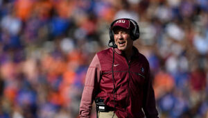 Thumbnail for Jimbo Fisher Will Make More Guaranteed Money With Texas A&M Than Any College Football Coach Ever Has