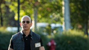 Thumbnail for Jeff Bezos' Net Worth Just Topped $105 Billion And That Makes Him The Richest Person Of All Time (Sort Of)