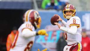'Thumbnail for The New York Jets Are Reportedly Offering Kirk Cousins $60 Million… In The First Year Of His Contract' from the web at 'https://vz.cnwimg.com/thumb-300x170/wp-content/uploads/2018/02/GettyImages-900101234.jpg'