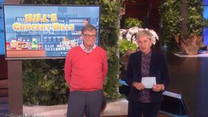 Thumbnail for Ellen Makes Bill Gates Guess The Price Of Basic Super Market Items… And It's Kind Of Hilarious