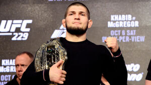 Thumbnail for Khabib Nurmagomedov's Manager Says He Won't Switch From UFC To 50 Cent's Bellator For Less Than $50M