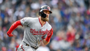 Thumbnail for Is Bryce Harper Announcing Where He'll Sign Via A Video Game?