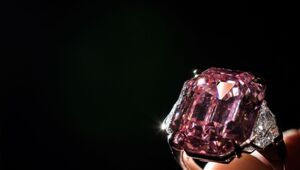 "Thumbnail for The 19 Carat ""Pink Legacy"" Diamond Could Sell For $50 Million"