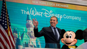 Thumbnail for Disney's Bob Iger Has Chance To Take Home $135 Million Reward