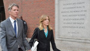 Thumbnail for Felicity Huffman Is Facing A Prison Sentence Because She Spent $.01 Too Much On College Testing Scheme
