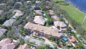 Thumbnail for Antonio Brown Sulks Home To This $6.6 Million Florida Mansion