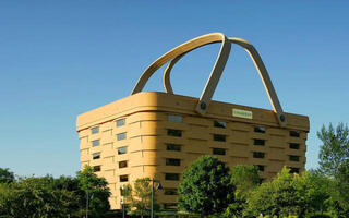 Selling This $5 Million Basket-Shaped Building Is No Picnic