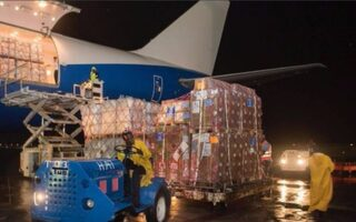 H.H. Sheikh Mohammed Sends Private Jet With $354,000 Worth Of Supplies To Haiti