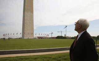 Billionaire David Rubenstein Pledges To Fund Washington Monument Repairs