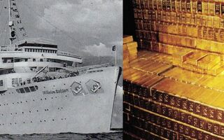 Does This Sunken Ship Contain Hitler's Lost Gold?