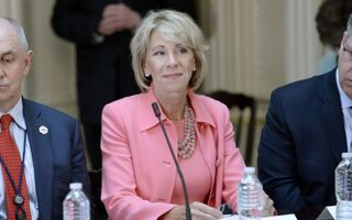 Security For Education Secretary Betsy Devos Costing Taxpayers