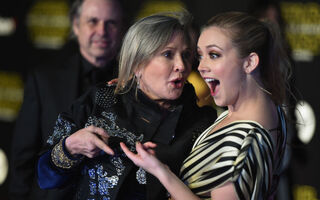 Carrie Fisher's 24-Year-Old Daughter Billie Lourd Named Beneficiary Of $25 Million Fortune