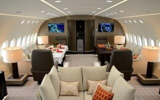 The Dream Jet, A Luxury Apartment Inside An Airplane, Costs $74,000 An Hour