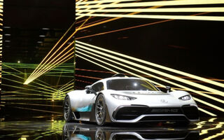 The Mercedes-AMG Project One Hybrid Concept Car Will One Day Cost $2.7M