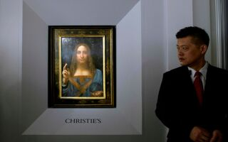 'Salvator Mundi,' Late da Vinci Painting, Expected To Get $100M At Auction