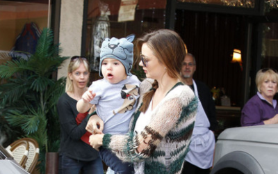 Miranda Kerr's Car:  Luxury and Responsibility for the Supermodel Mom