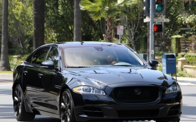 Victoria Beckham's Car:  Posh Spice Gets Posher in a Jaguar XJ