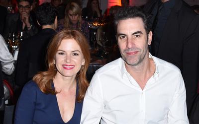 Sacha Baron Cohen & Isla Fisher Net Worth