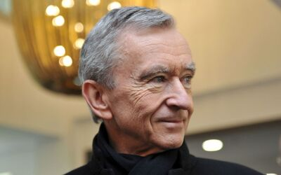 Bernard Arnault Is Europe's Richest Person, With An $80.8 Billion Fortune