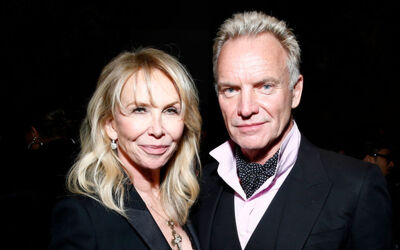 Sting & Trudie styler Net Worth