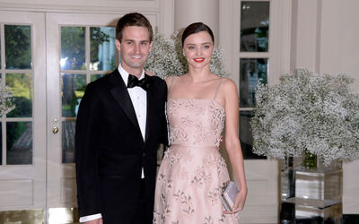 Evan Spiegel And Miranda Kerr Drop $30 Million On Paris Pad