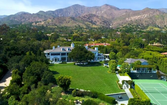 Rob Lowe Just Listed His Santa Barbara Mansion For $47 MILLION