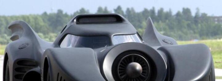 Real Jet Turbine Powered Batmobile for Sale