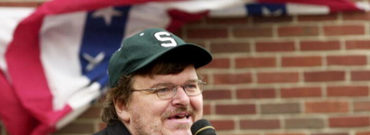Multi-Millionaire Michael Moore Denies He's Part of the 1%