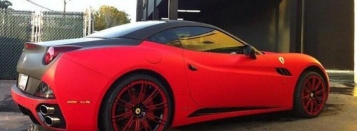 Flo Rida's Car: A New Ferrari California