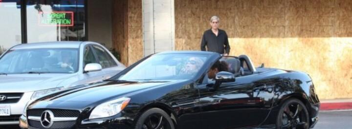 Mariah Carey's Car: A New Mercedes Benz SLK